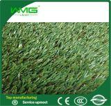 Hierba natural de la alfombra del jardín para el paisaje
