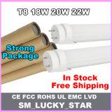 4feets super brillante LED bombillas fluorescentes de tubo de AC85-265V.