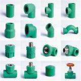 Buena calidad todas las clases de instalaciones de tuberías verdes de PPR para el agua