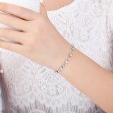 La imitación de la moda de joyería de latón con CZ pulseras para la Mujer