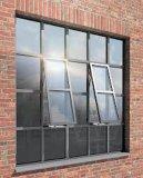 معجن فولاذ [فرنش] حديد باب ونافذة مع يليّن زجاج