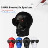 Lecteur audio mobile M29 d'orateur de crâne de Bluetooth 4.0 Sunglass de caisse de résonance d'ordinateur de secours de pouvoir bas fort portatif squelettique sans fil stéréo des plastiques FM