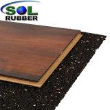 El aislamiento acústico Under-Layer acústica en el rodillo de piso de goma
