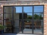 L'acier extérieur Stadard Austrilia français porte porte Bifold porte pliante