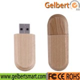 Привод вспышки USB самого лучшего логоса цены изготовленный на заказ деревянный для подарка промотирования