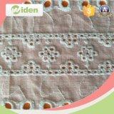 ウェディングドレスの綿の刺繍のレースファブリックのための衣服のアクセサリ