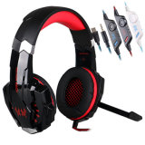 G9000 ad alta fedeltà Multi-Function Gaming Headphone con il Mic Noise Cancelling