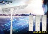 Automatisches Licht-Betriebszeit-Steuersolarstraßenlaternemit LED-Lampe