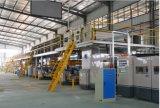 La línea de producción de papel corrugado de alta velocidad