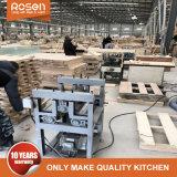 Fábrica china nuevo blanco de PVC Rta modular en el armario de cocina