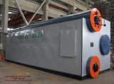 Упакованный горизонтальный боилер пара пробки воды 35t/H