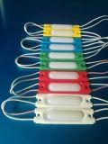 Gran cantidad de lúmenes 1.7W 6pzas publicidad LED de luz LED de alimentación módulo LED