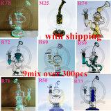 Soem-ODM-Recycler-Farben-rauchendes Wasser-Glasrohr
