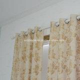 Klasseen-Spitzenrührender Polyester-Leinenvorhang
