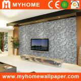 Papier peint de salle de séjour de fond de TV pour décoratif