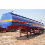 El calor Preservable tres ejes de transporte de camiones de remolque del depósito de asfalto