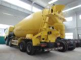 HOWO A7 10m3 구체 믹서 트럭 6X4 시멘트 믹서 트럭