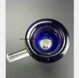 Blauwe Mannelijke Kom 14.5mm, de Montage van het Glas van de Pijp van de Waterpijp van het Glas van 18.8mm