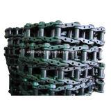 As peças da esteira rolante da estrutura do carregador da escavadora da máquina escavadora lubrific a corrente selada da trilha, ligações da esteira rolante