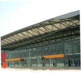 Diseño moderno edificio de la galería de bastidor de acero prefabricados