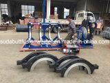 máquina de soldadura plástica da tubulação do HDPE de 500-800mm