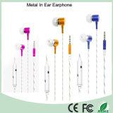 MP3 Oortelefoon de van uitstekende kwaliteit van het Metaal in Oor Earbuds (k-602M)