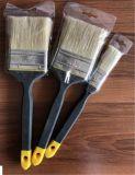 Maniglia di legno affusolata dei puntali colorata oro dei filamenti del poliestere dei pennelli