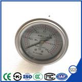 De Manometer van de Maat van de Druk van het Bewijs van de Schok van de fabriek direct met AchterAansluting