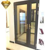 Foshan-Stadt-Doppelverglasung-Aluminiumprofilsicherheit Tür