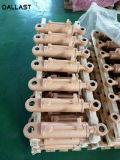 ダンプトラックのための溶接された倍代理ピストンタイプ水圧シリンダ