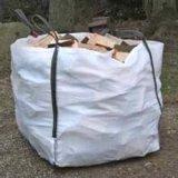 Sac en vrac à toit ouvert pour l'emballage du bois de chauffage
