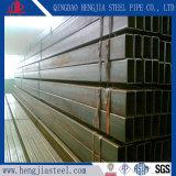 Tubo de acero rectangular pre galvanizado brillante de la superficie