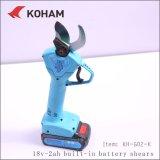 Литиевый аккумулятор с высокой скоростью работы винограда с электроприводом отрезные ножницы