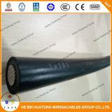 5KV/10KV/15KV/25KV/35kv de tensión media Mv ANSI/Icea S-66-524 AAC ACSR ACSR-Aw resistentes al seguimiento de Conductor aislamiento XLPE 3/0 4/0 cable árbol