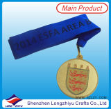 Shaped fait sur commande Medal Sports et Metal Medallion Supplier en Chine