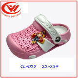 Colorfur Children EVA Plastic Footwear Durable Clog Shoes pour enfants