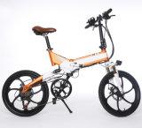 20inch, das elektrisches Fahrrad E-Fahrrad mit schwanzlosem Motor faltet