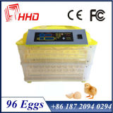 Volles automatisches Geflügel Egg die Inkubator-Preise, die anhalten 96 Eier (EW-96)