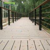 Compuesto de plástico antideslizante entablado de madera para jardín al aire libre Piscina Swimmimg