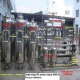 De industriële Installatie van de Behandeling van het Water van het Systeem RO