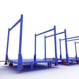 Vouwbare het Rekken van de Pallet van het Staal van de Plank van de Opslag van het Metaal Frames