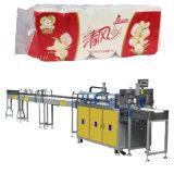 Machine à emballer de papier de presse de tissu de roulis de salle de bains