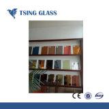 Effacer/Silver Mirror/ sécurité couleur miroir avec film PE/tissu tissé film/film vinyle