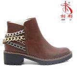 2018 ультрамодных ботинок для женщин, повелительницы Ботинка обуви Горяч-Сбывания сексуальной (AB608)