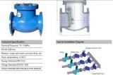 Válvula de verificação de sistemas de água doméstica