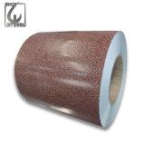Couleur RAL PPGI 0.25mm épaisseur en acier galvanisé Feuille de bobine