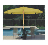 木の傘、日曜日の昇進、市場パラソル商業、庭、屋外の傘