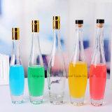 Forme de bowling série Bouteille de vin de glace en verre avec couvercle