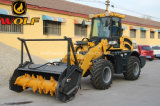 Wolf 2 Your Face Wheel Loader with Mulcher