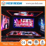 La publicité de la location arrêtant l'écran d'Afficheur LED de la Corée